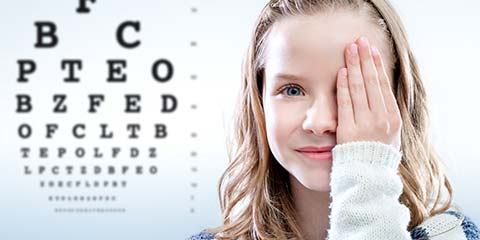 Eye Examination for Kids